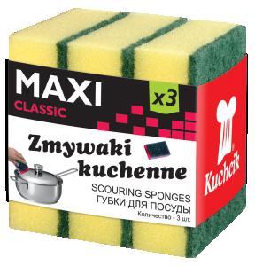 Zmywaki MAXI CLASSIC 3szt.